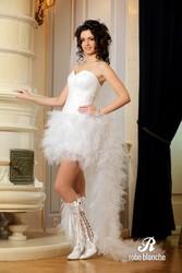 Новое необычное свадебное платье