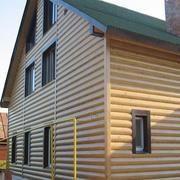 Блок - хаус сосна,  сорта: А АВ С,  размеры:1)т.28мм*145*6м 2)т.20мм*96