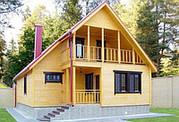 Cтроительство деревянного эко. дома по доступной цене