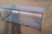 Парник из металлических труб, крытый поликарбонатом с доставкой по РБ