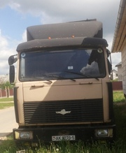 МАЗ 64229 с полуприцепом KRONE SPD27