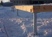 Винтовой Фундамент за 1 день в любой точке Республики Беларусь