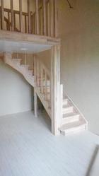 Купить лестницу дачную под заказ. 3D модель. Монтаж. Гарантия