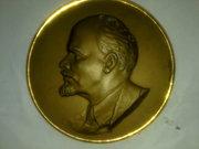 Медаль настенная В. И. Ленин