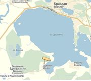 Участок 12соток на Браславских озерах под строительство дешево.