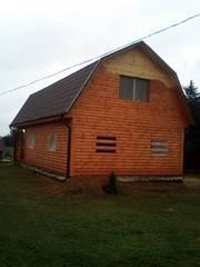 Дома из бруса 9 на 7 Владимир установка Кричев и рн