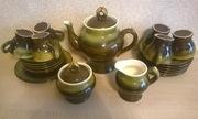 Набор чайный (кофейный) из керамики (22 предмета) на 6 персон
