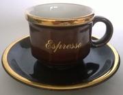 Кофейная пара Espresso (Германия,  фарфор,  объём 100 мл)